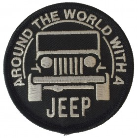 Badge brodé Velcro Jeep USA