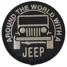 Badge brodé Velcro Jeep