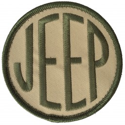 Badge brodé Velcro Jeep