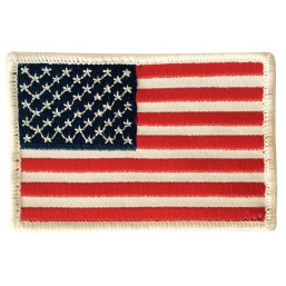 Badge brodé Velcro USA drapeau