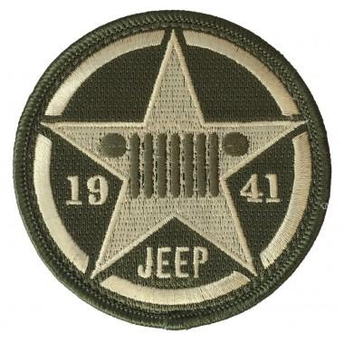 Badge brodé Velcro Jeep USA