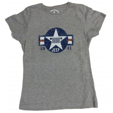 T-shirt femme Etoile USA